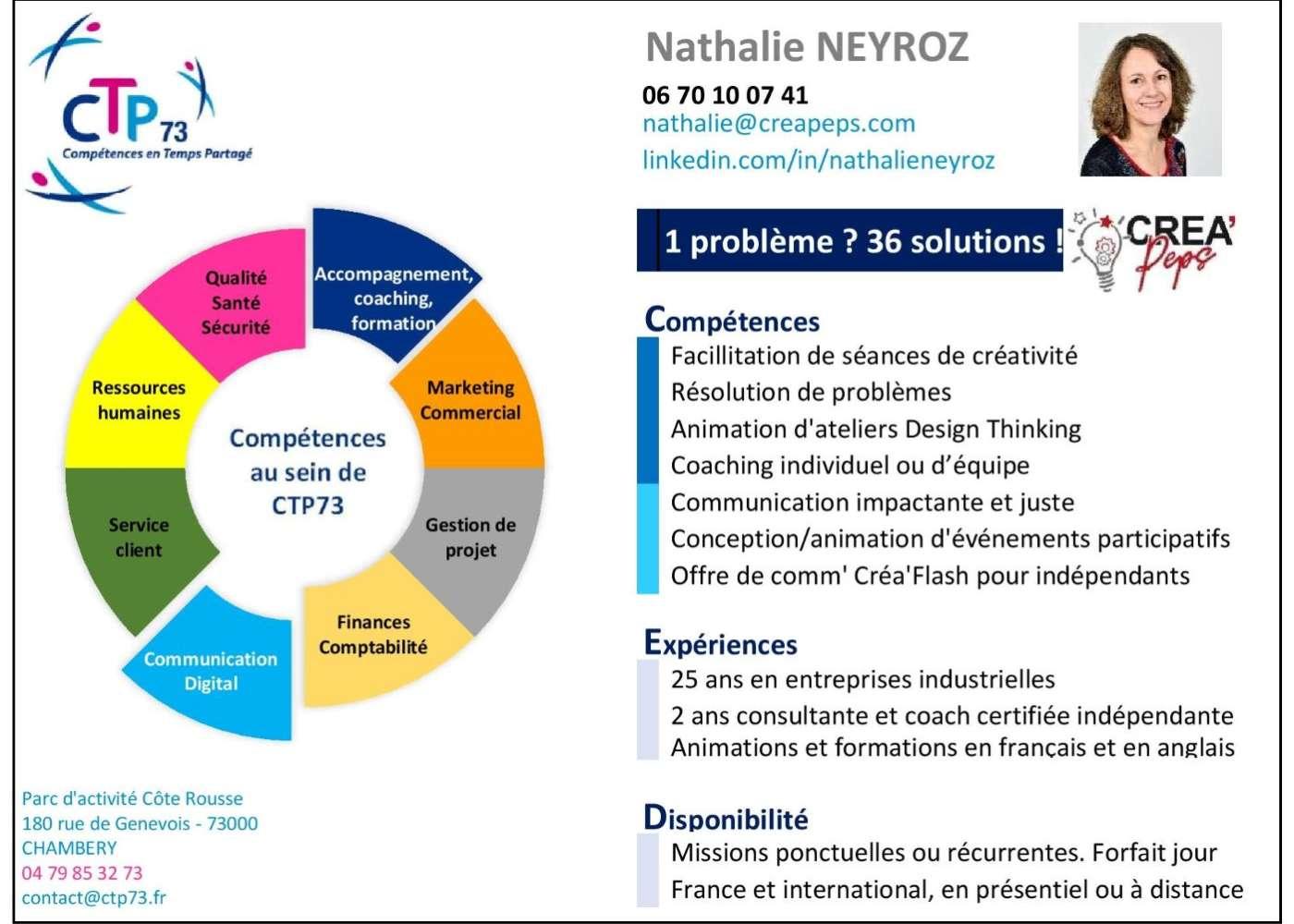 201202_CTP73 Offre compétences Nathalie Neyroz